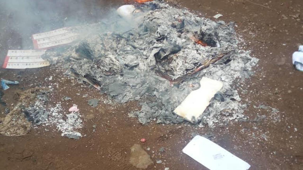 Ballot boxes set ablaze in Lagos   The Guardian Nigeria News - Nigeria and World News