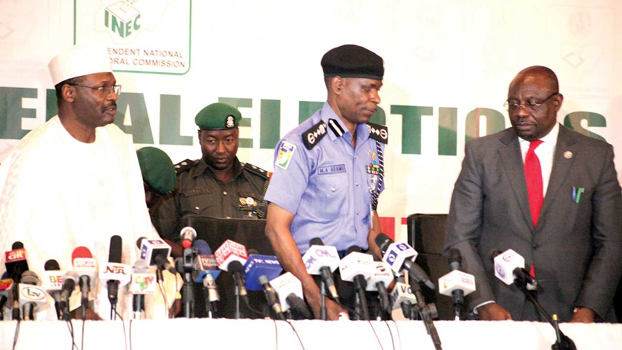 INEC urges peaceful conduct during today's polls | The Guardian Nigeria News - Nigeria and World News