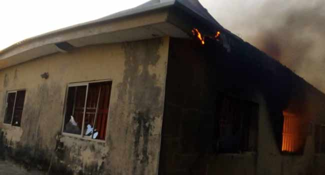 Fire guts election materials in Anambra | The Guardian Nigeria Newspaper - Nigeria and World News