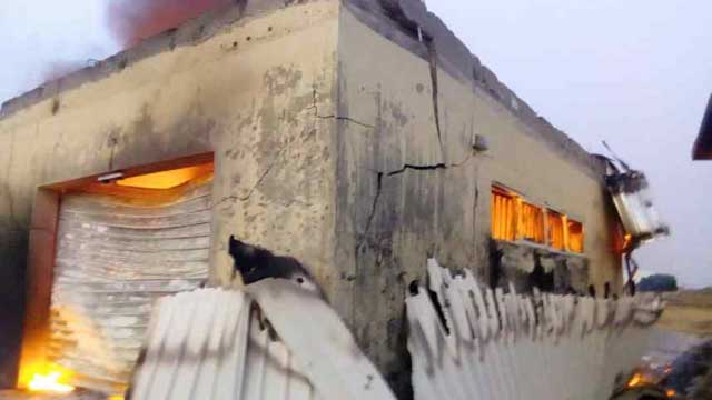 Fire guts INEC office in Plateau LG