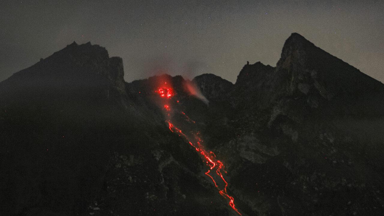 Erupting Indonesian volcano spews ash, lava  The Guardian Nigeria News  Nigeria and World