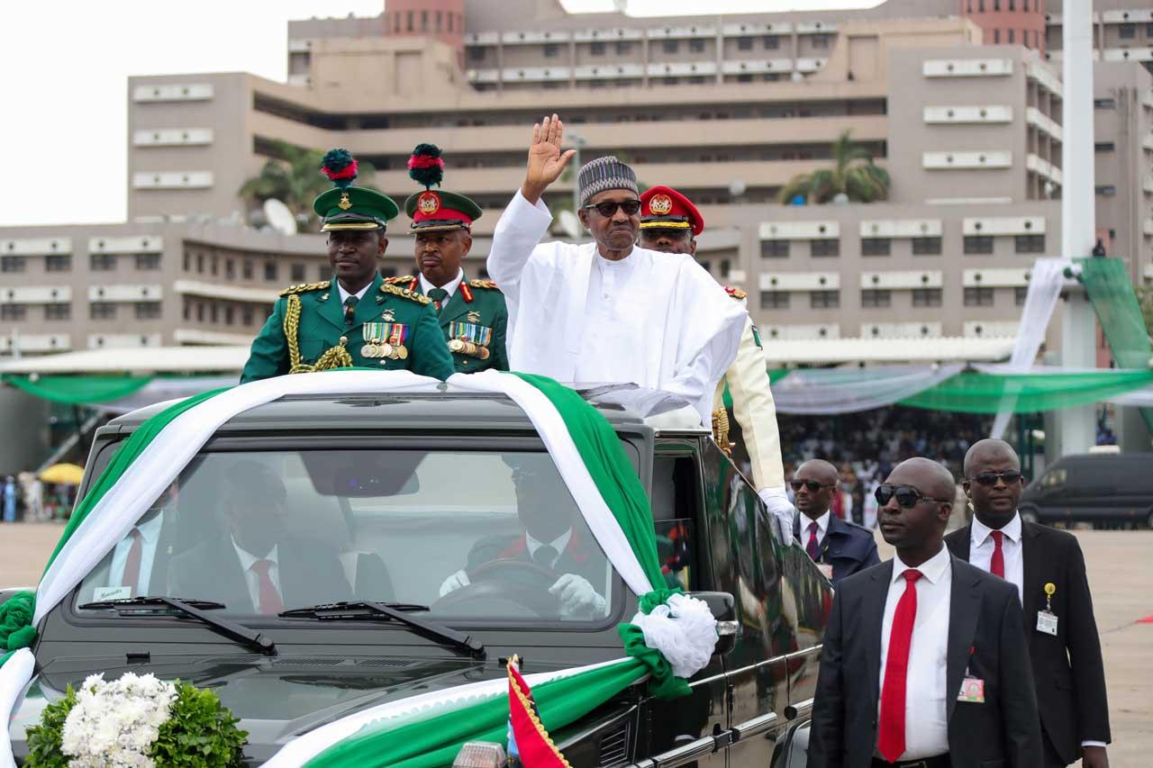 June 12: Buhari, Osinbajo, Lawan, Gbajabiamila, Abiola's Family at the Eagles Square