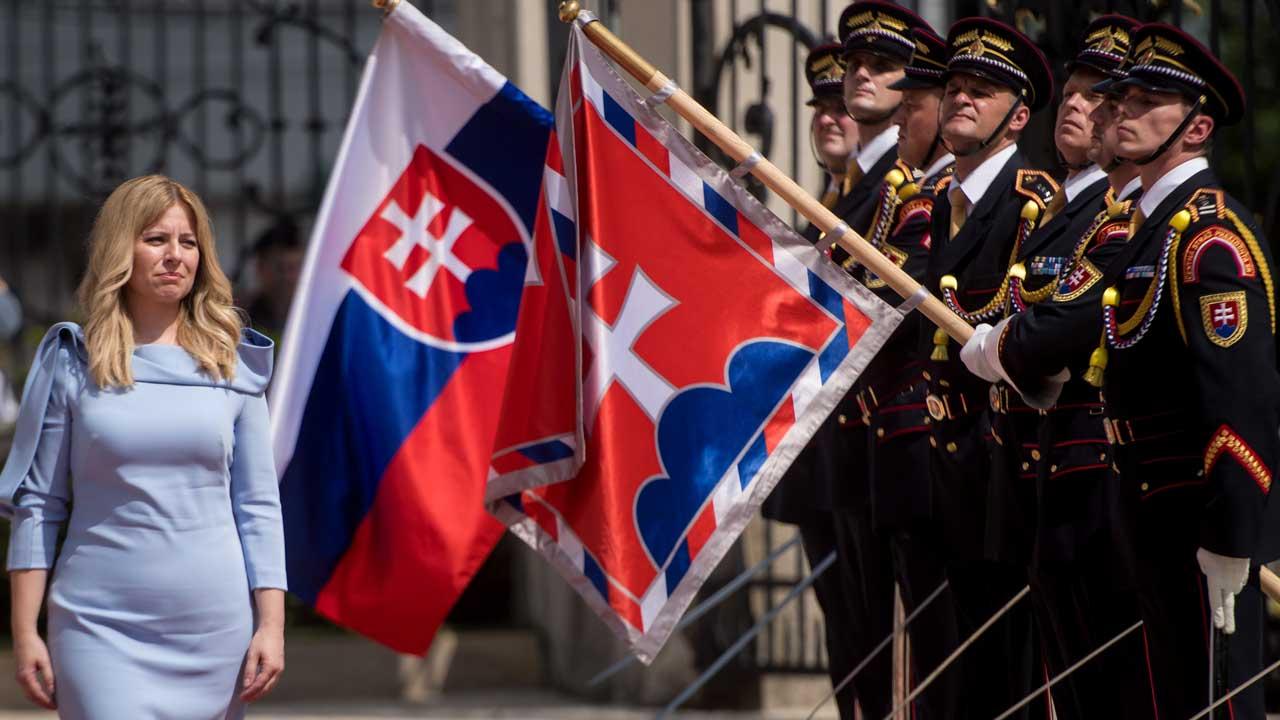 Slovakia swears in first woman president Caputova | The Guardian Nigeria News - Nigeria and World News