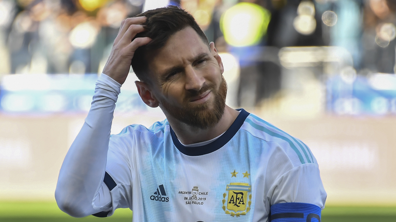 Messi sent off in Copa America third place play-off