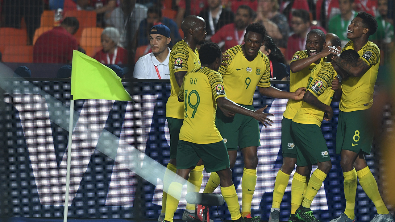South Africa stun Africa Cup of Nations hosts Egypt