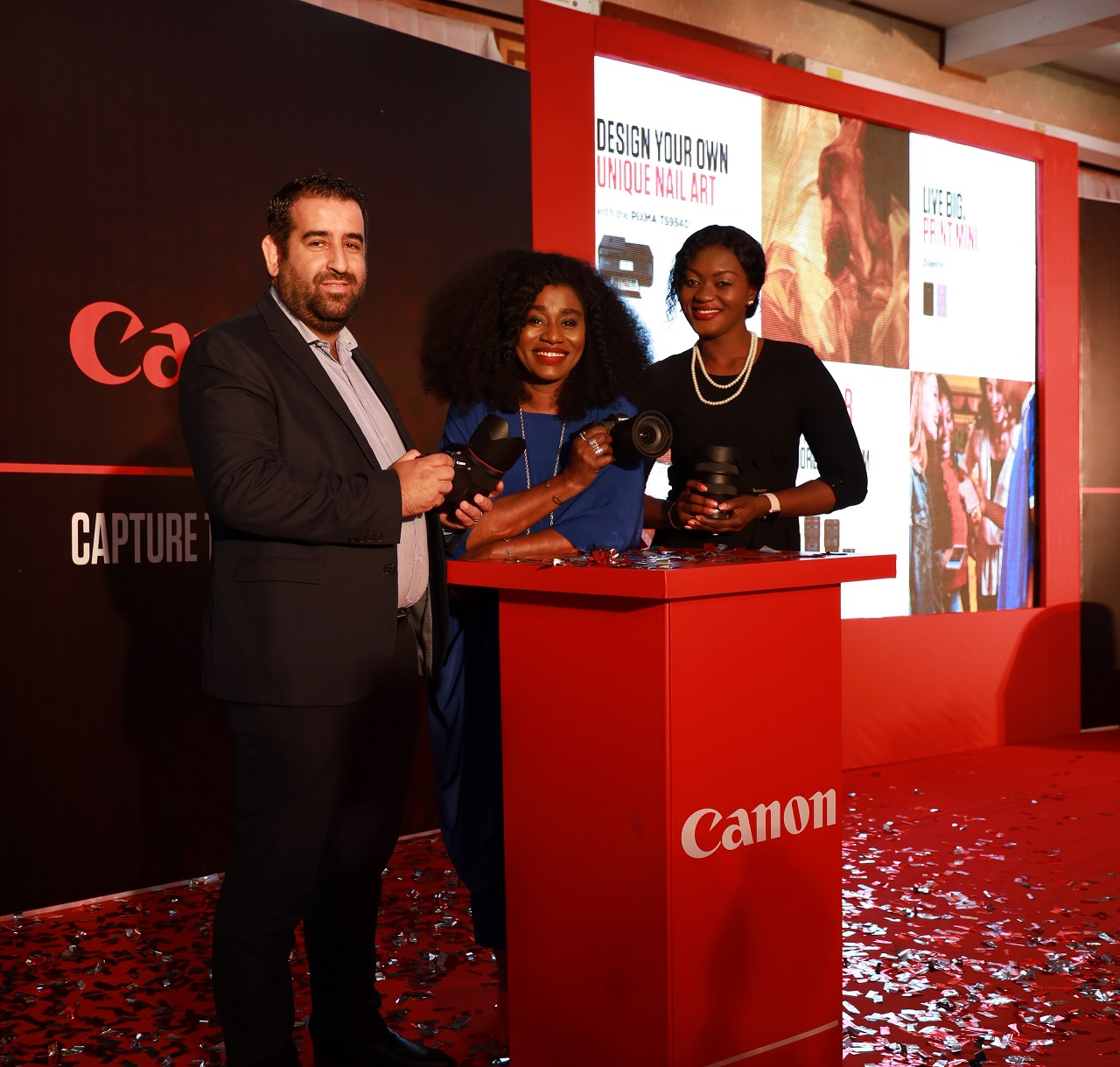 Canon unveils exciting range of products in Nigeria