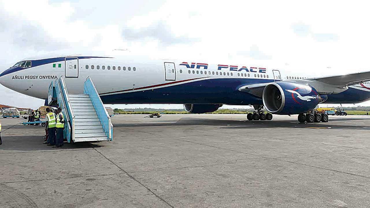 Air Peace receives third Boeing777 aircraft