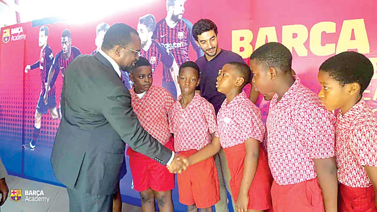 Barca Academy Group reaffirms desire to build sustainable football development culture in Nigeria