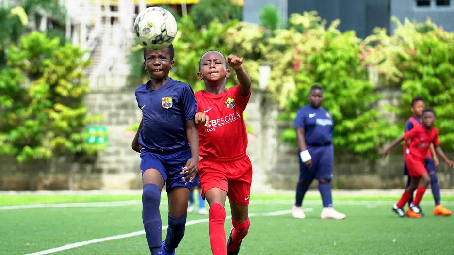 Barca Academy Grooming Future Football Stars From Nigeria The Guardian Nigeria News Nigeria And World Newssport The Guardian Nigeria News Nigeria And World News