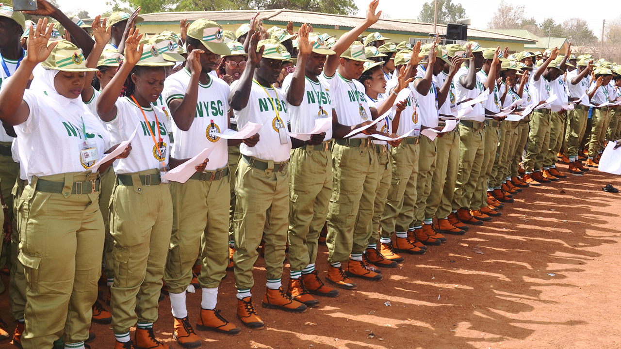 Corps Members. Photo: Guardian Nigeria