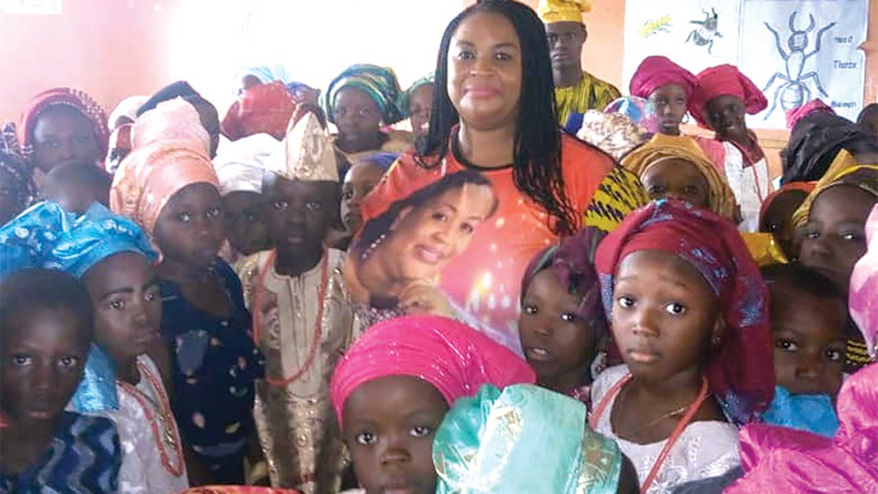 August: Nollywood actress holds free Yoruba summer classes for children