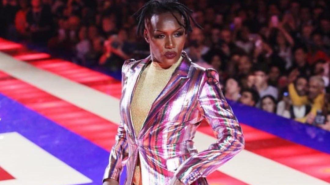 grace jones  70  brings paris fashion week to a remarkable closeguardian life  u2014 the guardian