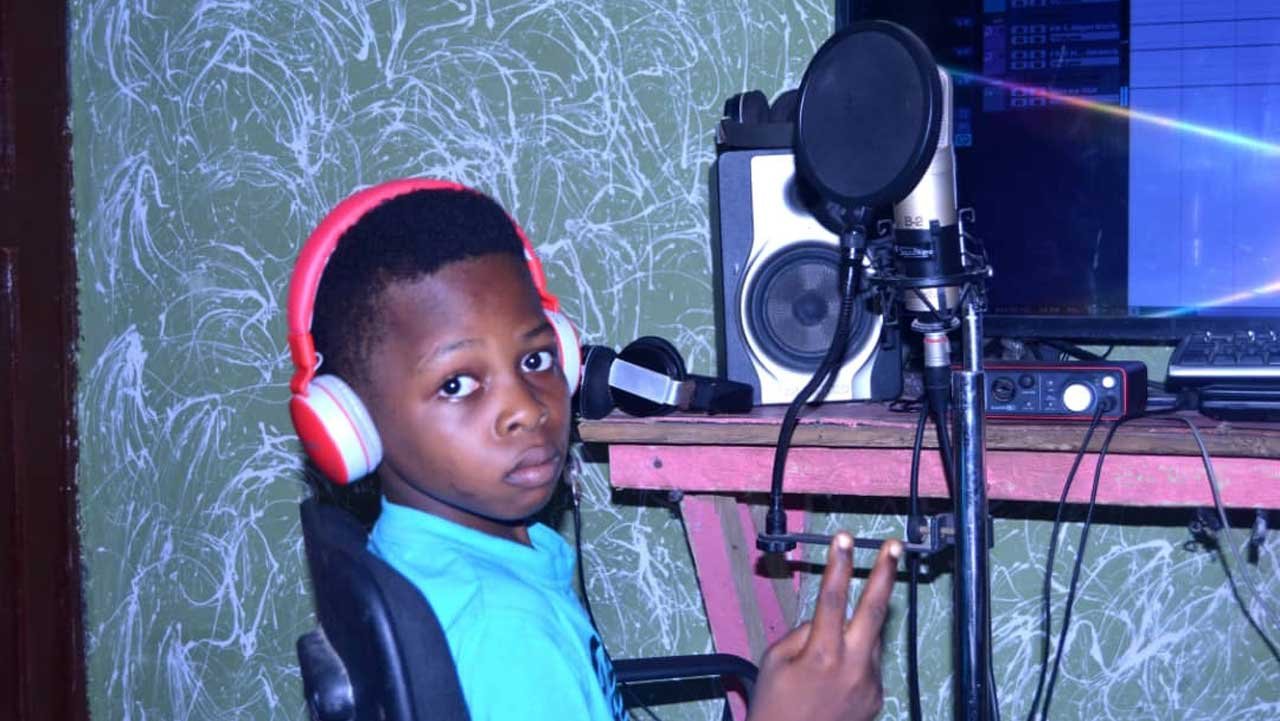 Hassan Al-ameen Williams: 10-year-old recording artiste, entertainer