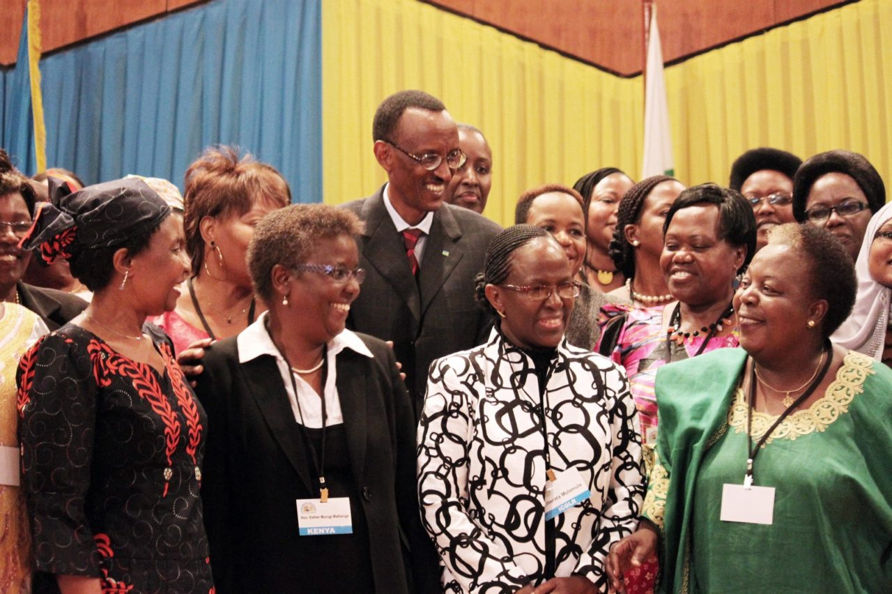 Rwanda is the number 1 country for women in politics