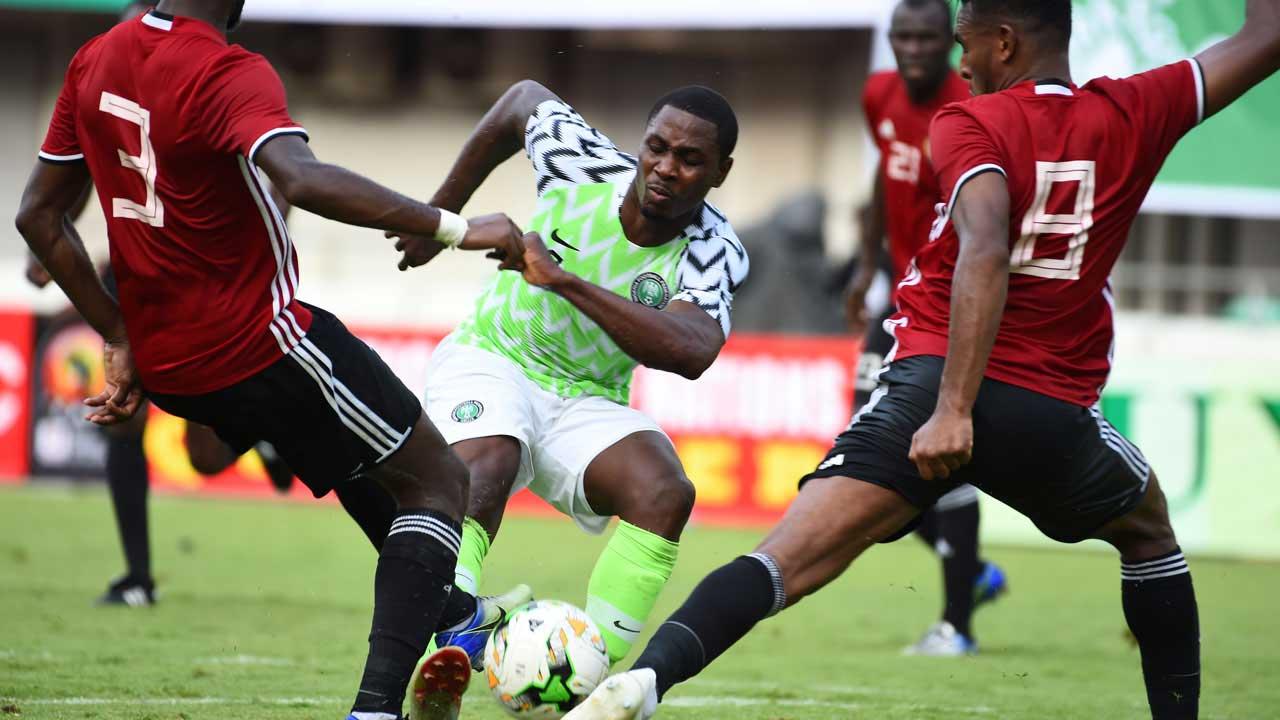 Nigeria beats Seychelles 3-1 despite Ozoho's poor goalkeeping