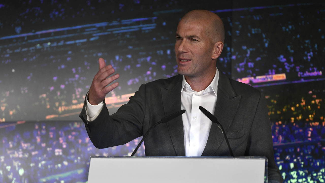 Zinedine Zidane re-appointed as Real Madrid coach