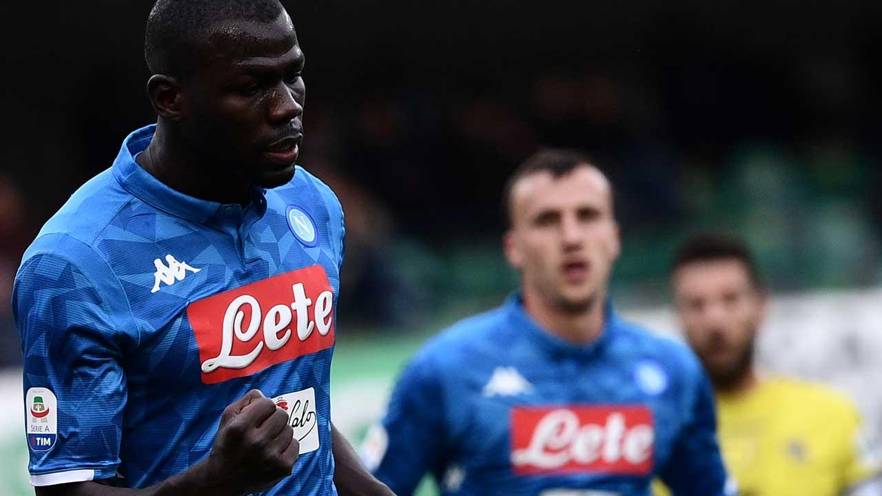 Koulibaly Scores Twice As Napoli Delay Juventus U0026 39 Title
