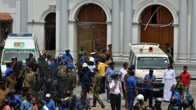 Image result for Sri Lanka explosions: 137 reportedly killed as churches and hotels targeted