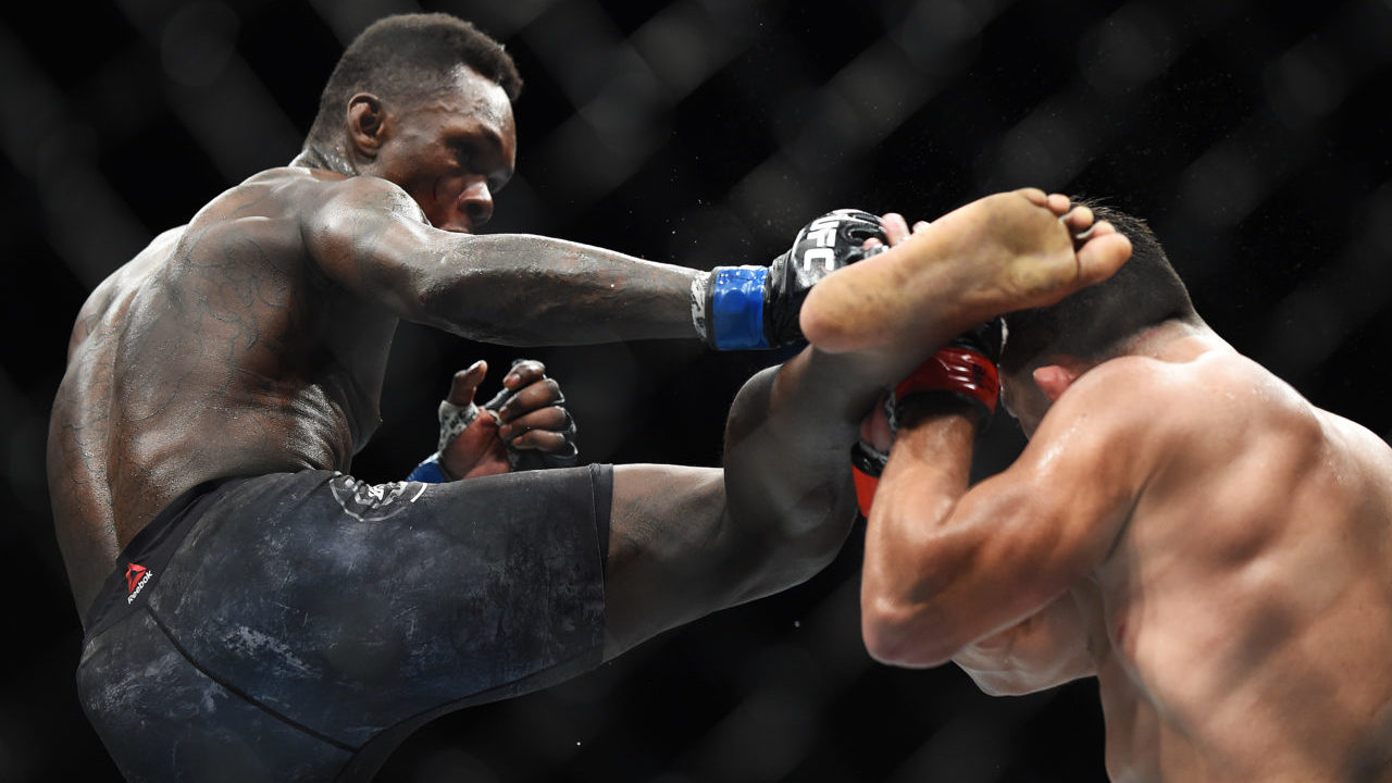 UFC 243: Israel Adesanya revels in Robert Whittaker win