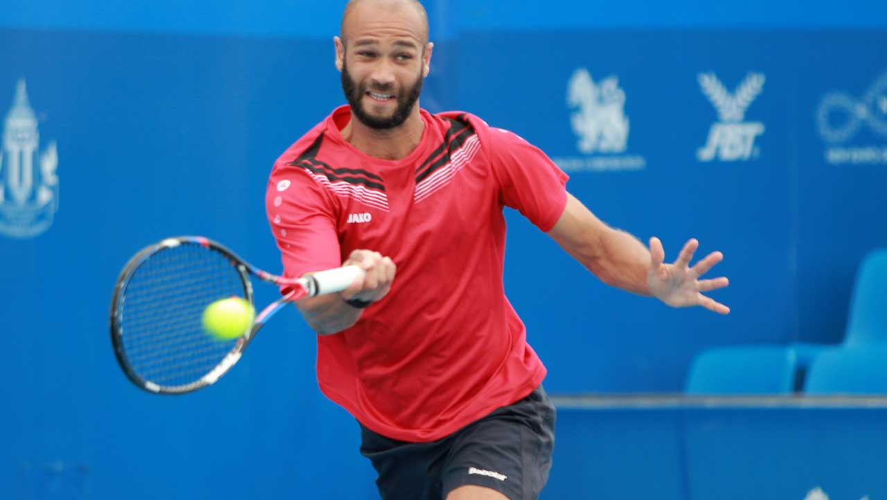 Doumbia whips Kobelt to win Tombim Open