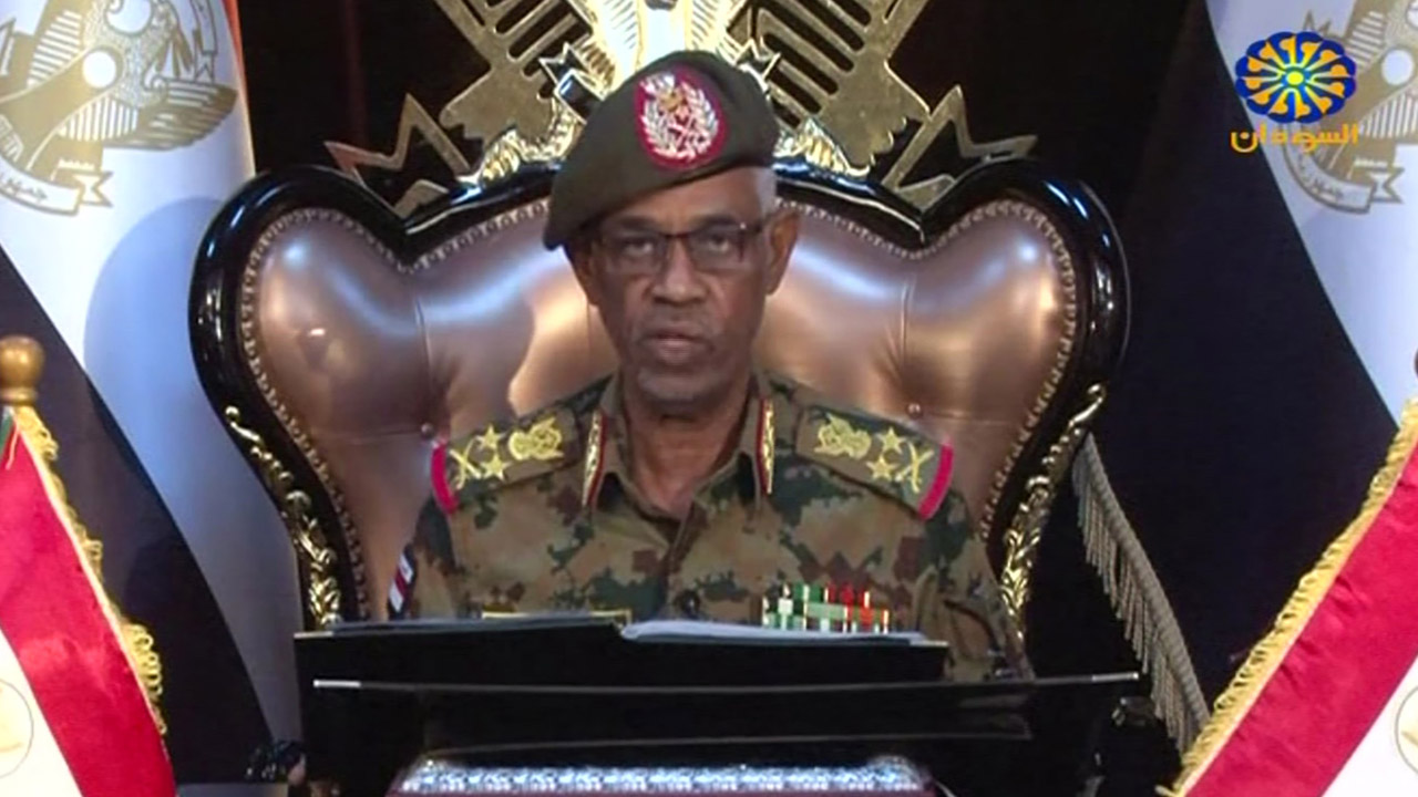 Sudan's military head resigns after one day, army says 'not a coup'