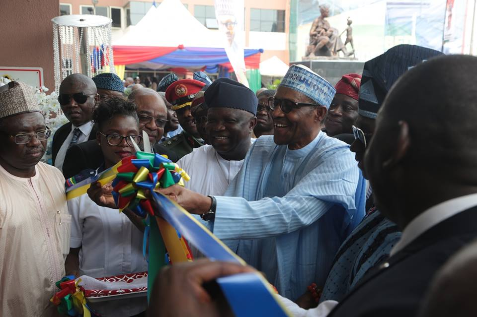 Buhari commissions newly reconstructed maternity institute | The Guardian Nigeria News - Nigeria and World News
