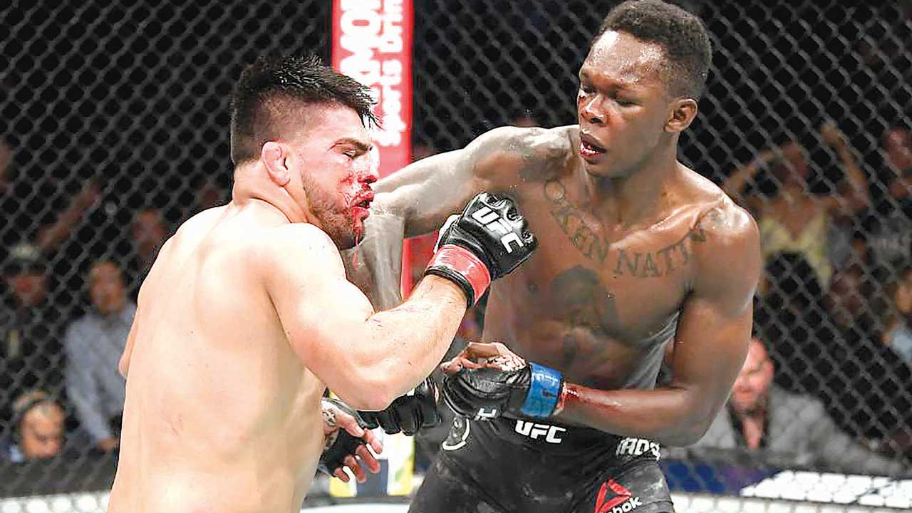 Image result for Israel Adesanya Biography
