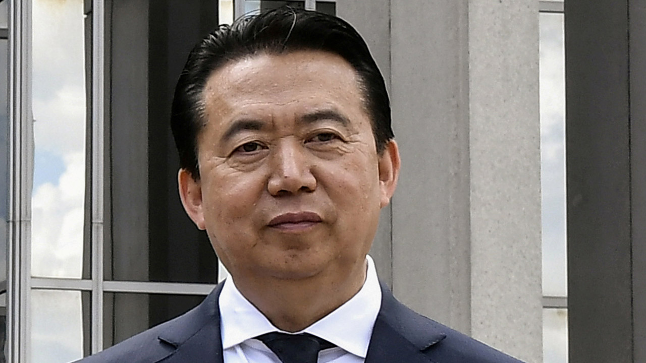 China formally arrests ex-Interpol chief