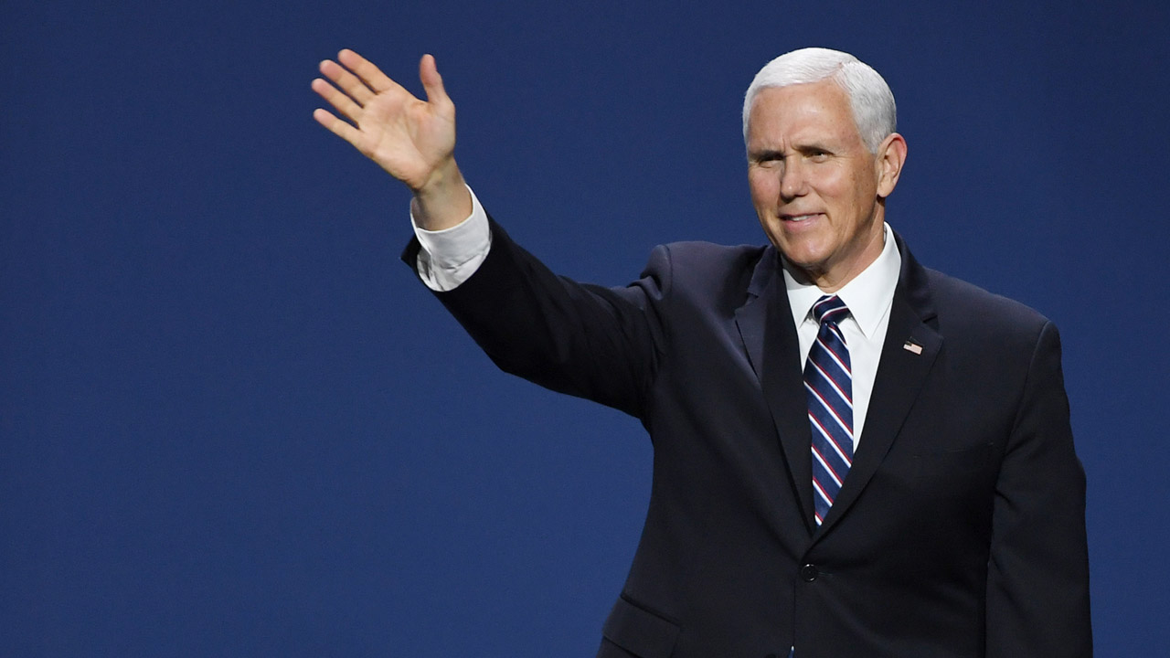 Pence defends Trump's mixed message on WikiLeaks