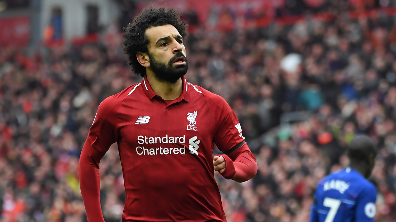 Klopp lauds Salah as Liverpool down Chelsea and eye holy grail