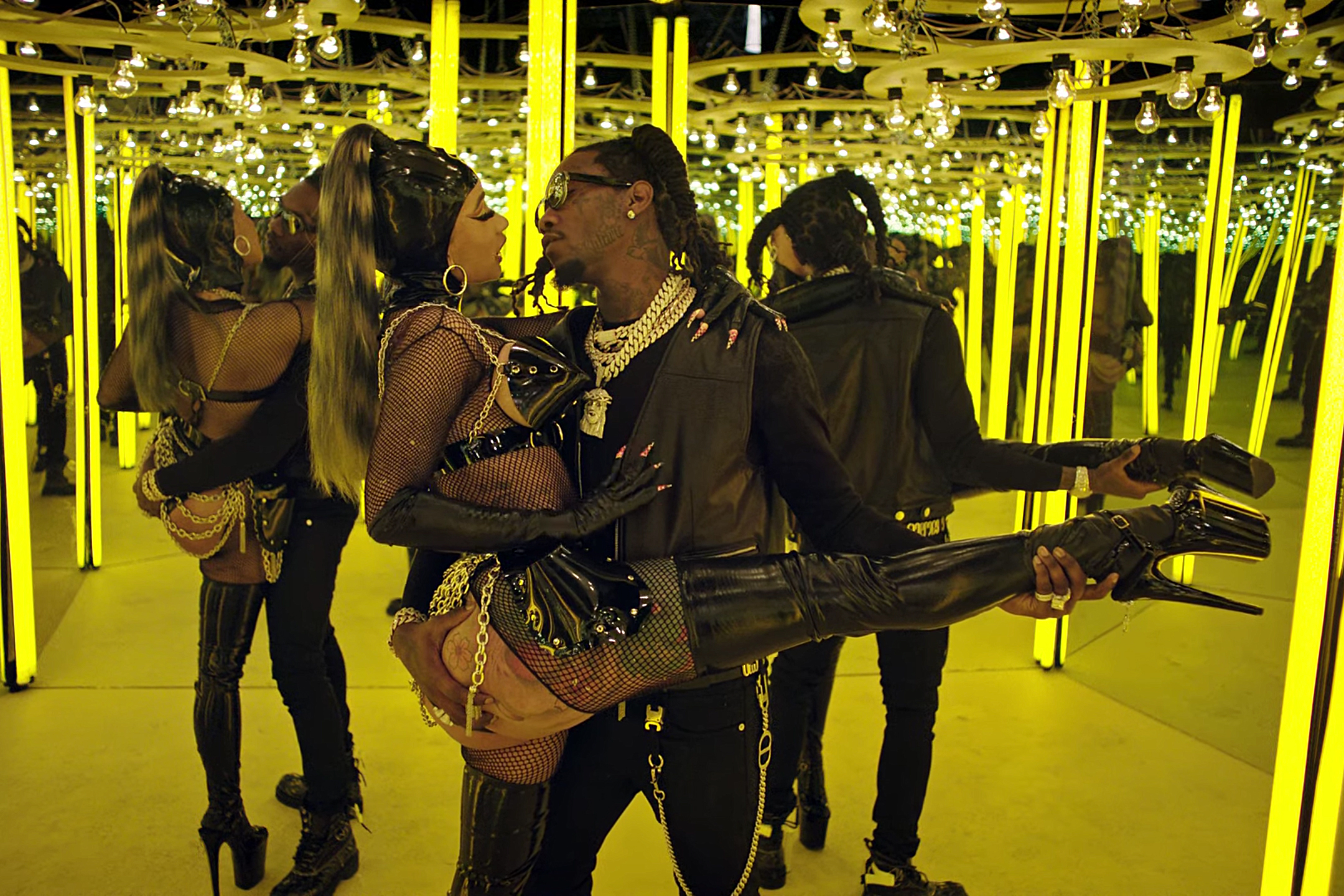 b806e44e4d96 Watch  Offset And Cardi B Release Hype Visuals For