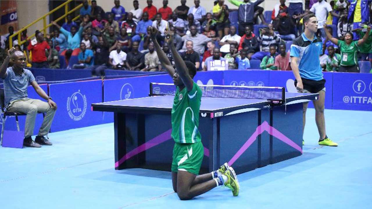 Nigeria reclaims boys' singles title at ITTF African Junior/ Cadet Championship