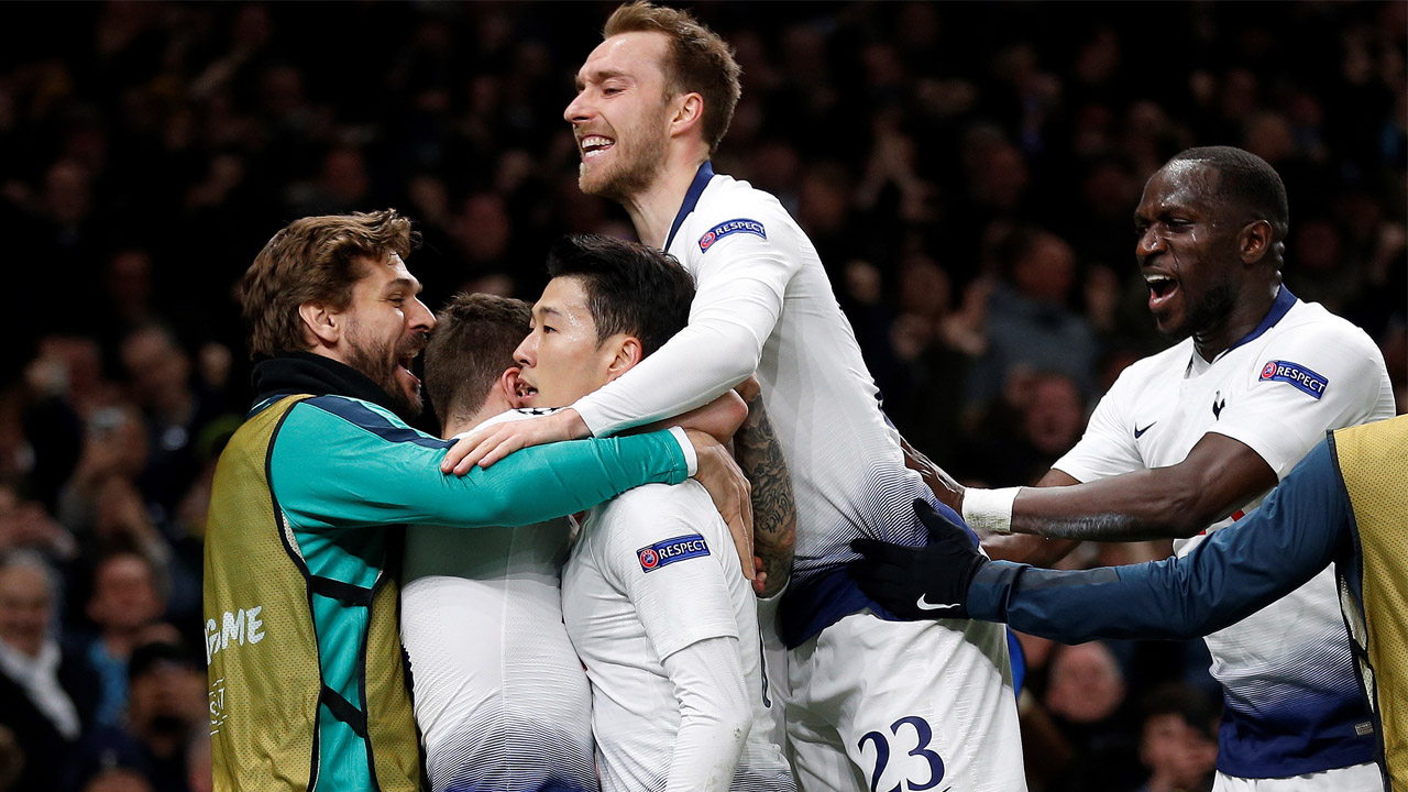 Image result for tottenham v city