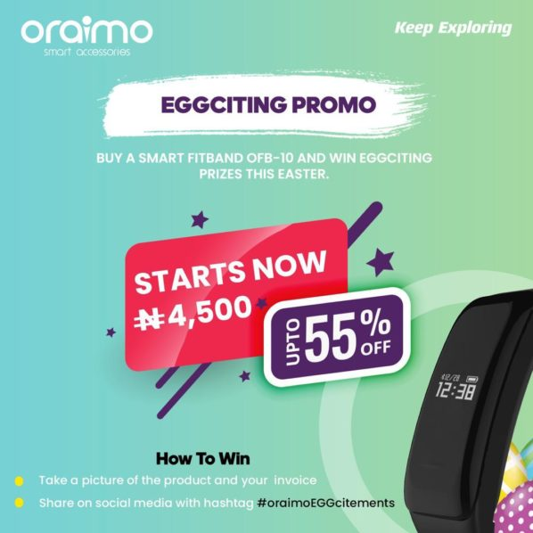 oraimo kickstarts Easter festivities with EGGciting offers