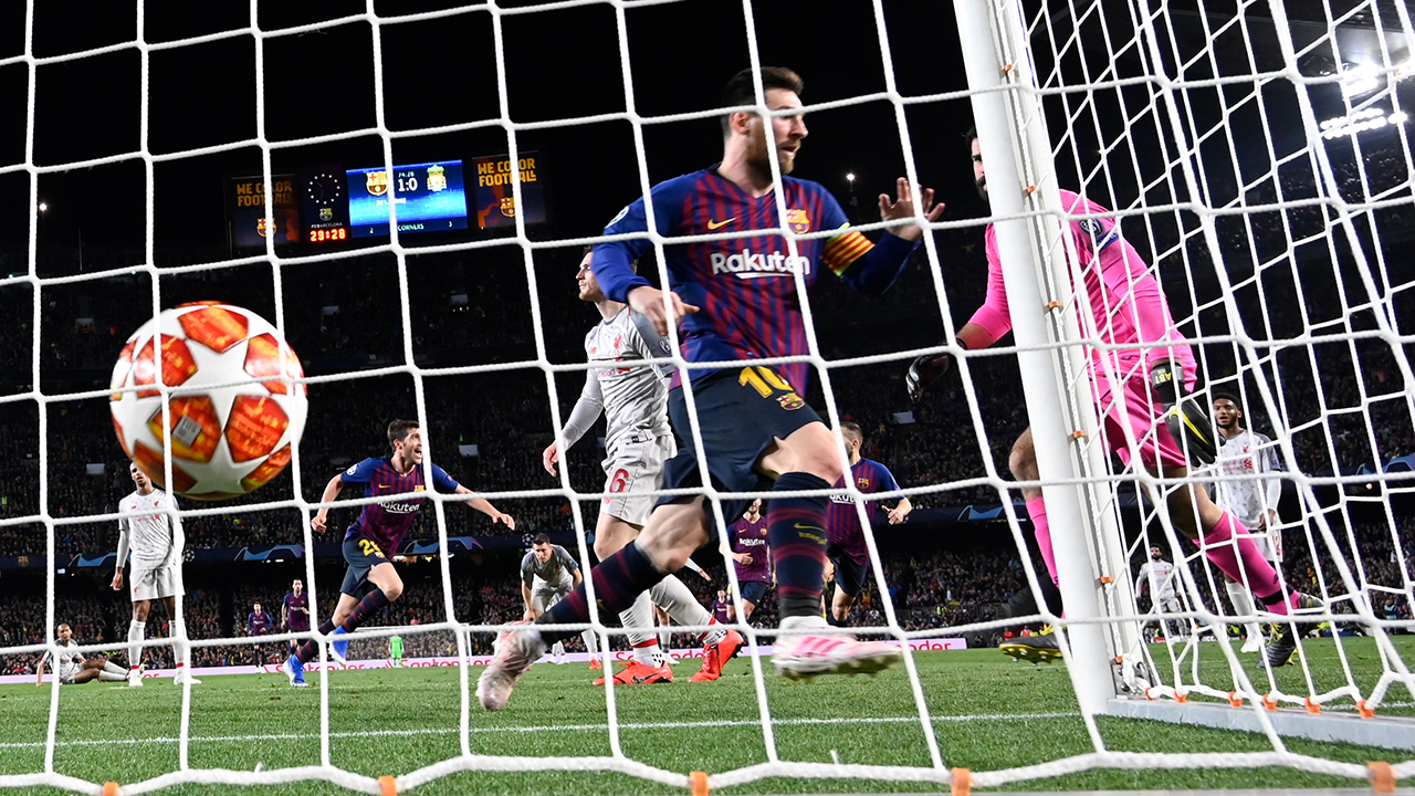 Messi-inspired Barcelona hit wasteful Liverpool 3-0