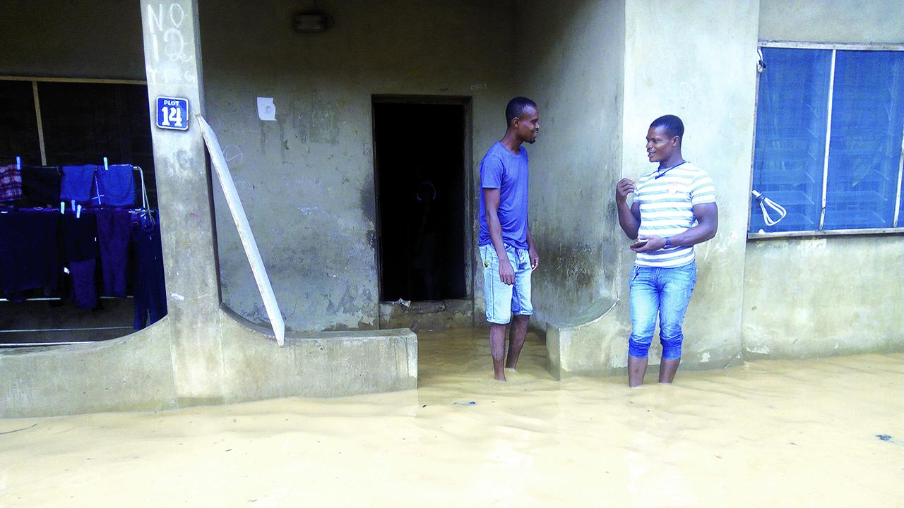 Rain wreaks havoc on Ahmadiyya community