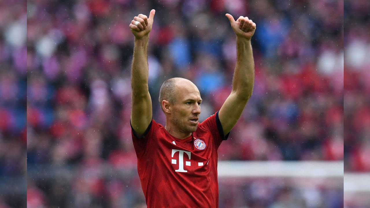 European Giant Ready To Sign Bayern Munich Star Arjen ...  |Arjen Robben
