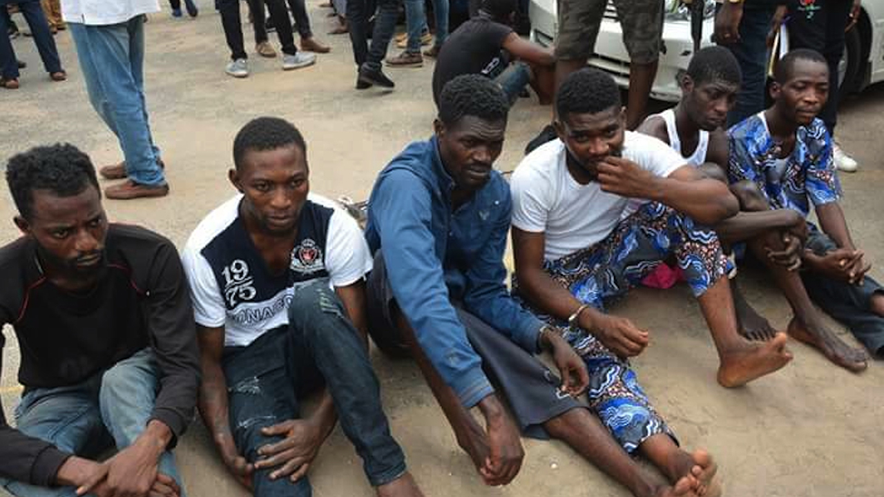 Image result for Police arrest 19 year old notorious cultist in Lagos