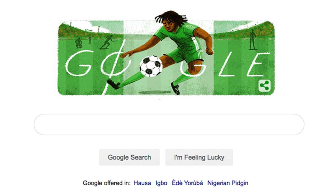 Google Doodle celebrates the late football icon, Okwaraji | The Guardian Nigeria News - Nigeria and World News