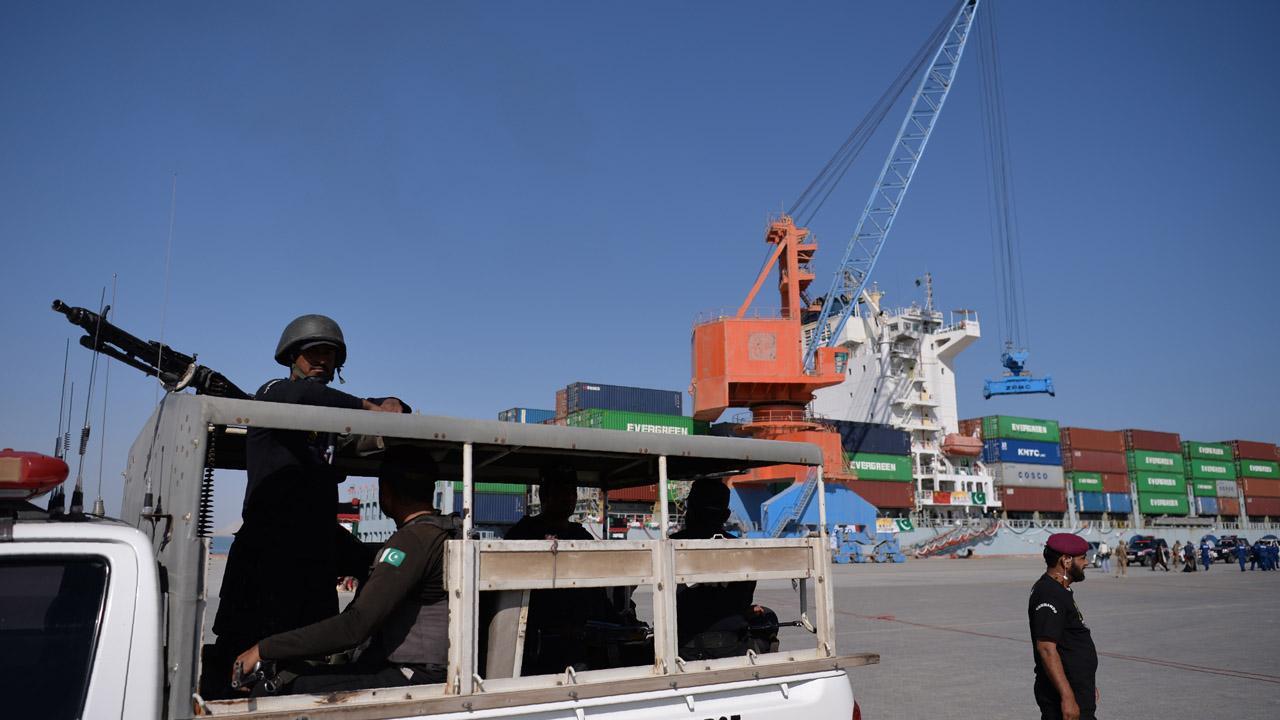Gunmen storm luxury hotel in Pakistan port city of Gwadar
