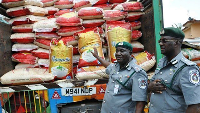 Navy seizes drums of diesel, parades 12 suspects, smuggled rice in Akwa Ibom