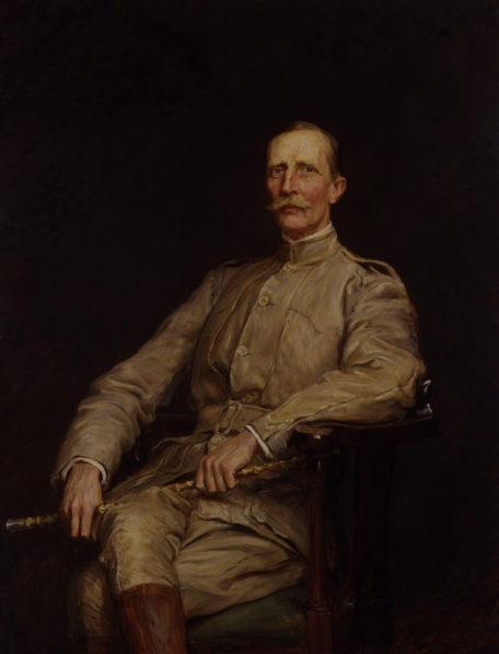 Sir George Dashwood Taubman Goldie. Photo Sir Hubert von Herkomer. King Koko. Photo Nairaland  Who Sold Nigeria To The British For £865k In 1899?