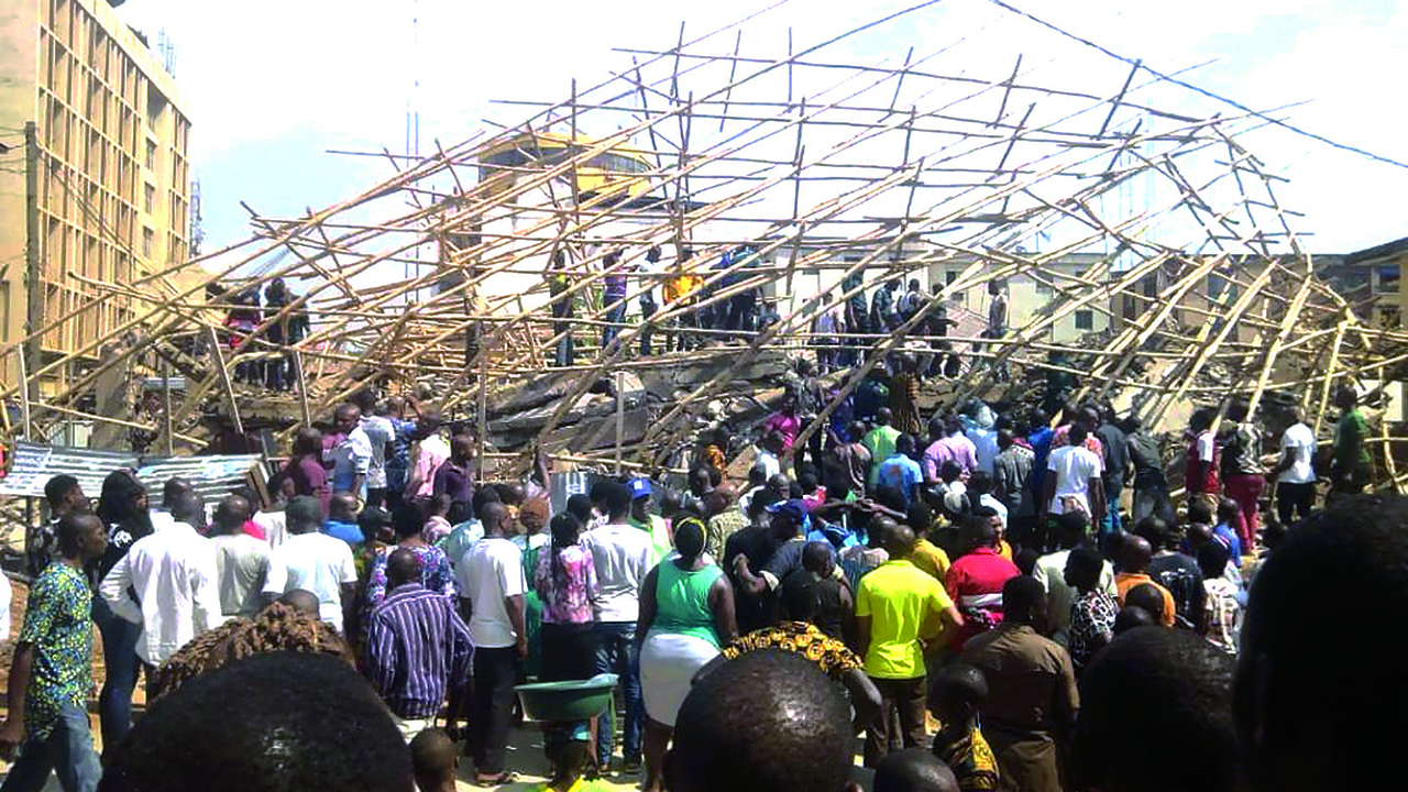 Site engineer, others trapped under collapsed four-storey building in Onitsha