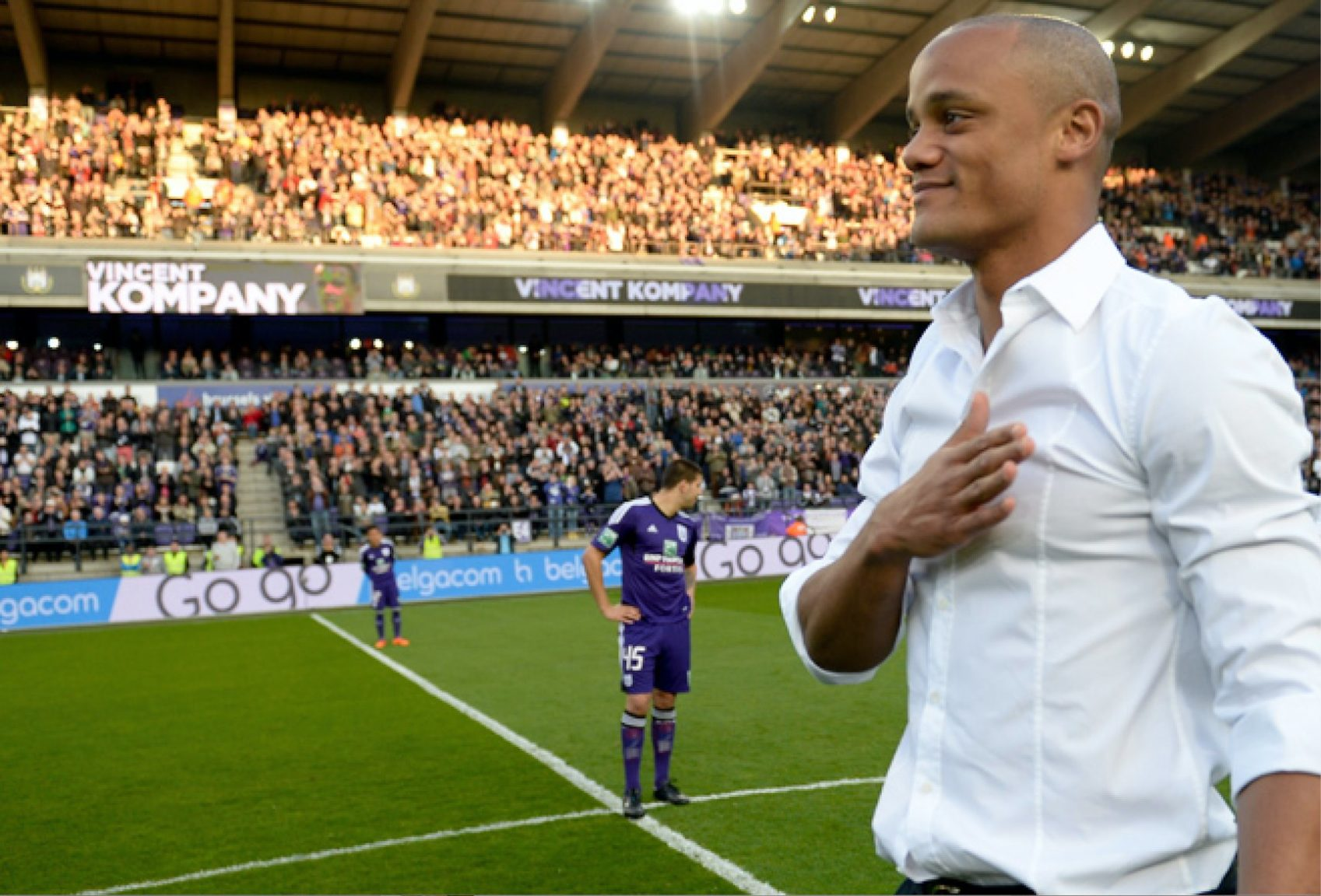 Image result for kompany anderlecht