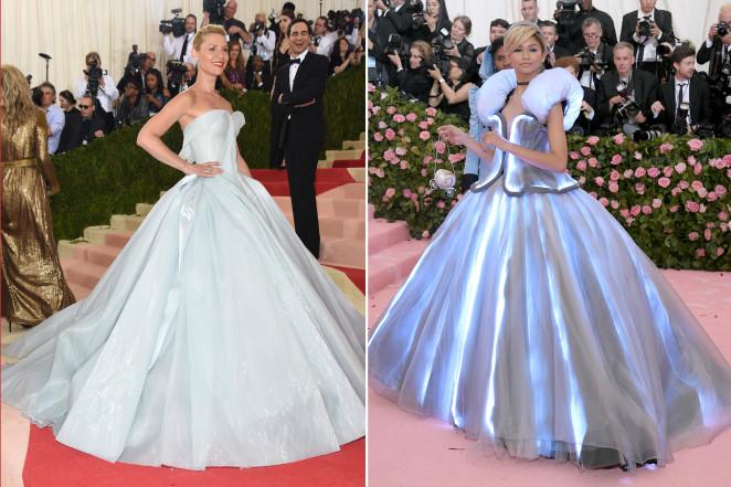 2019 Met Gala Lindsay Lohan Slams Zendaya S Cinderella