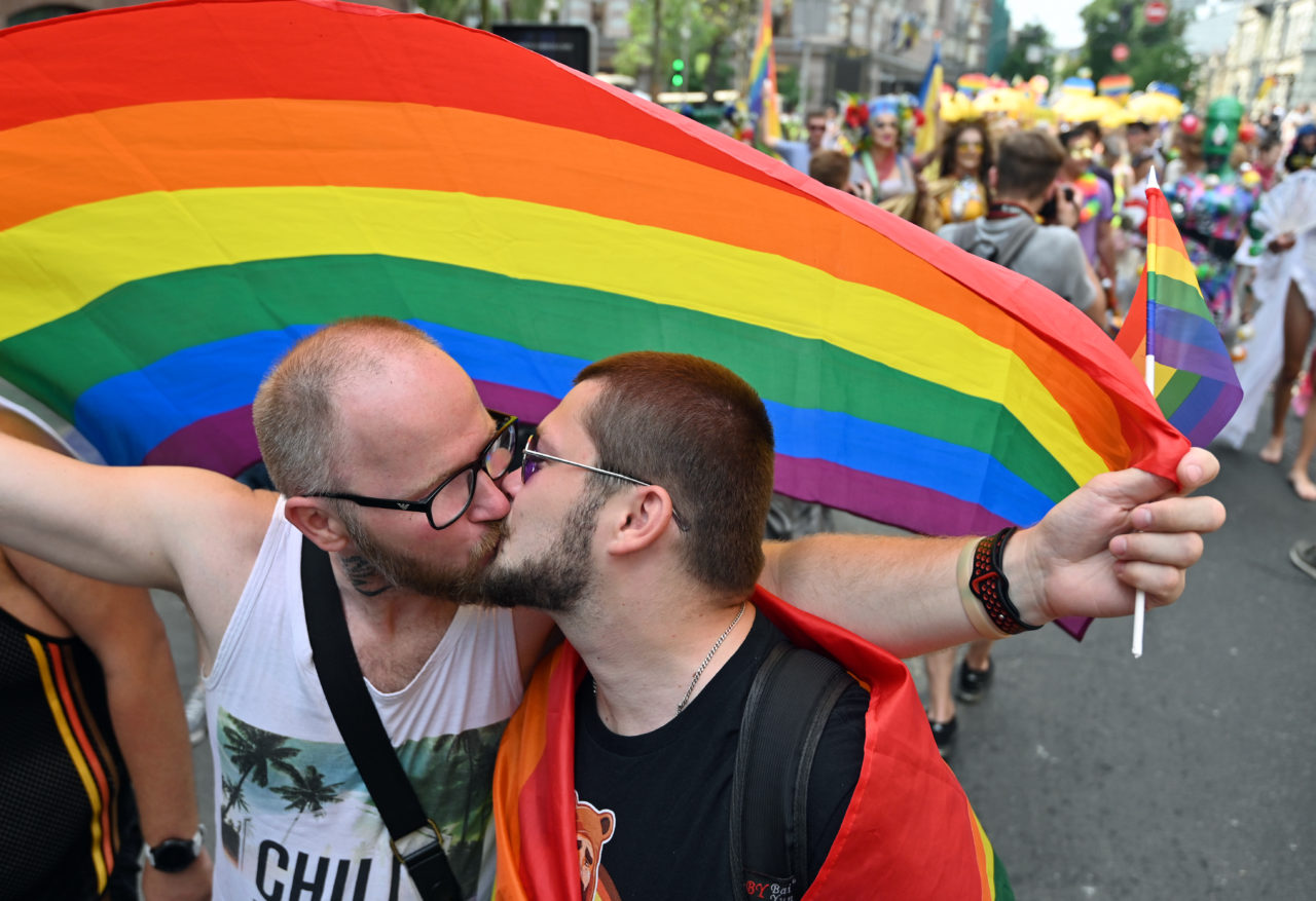 Thousands march in Ukraine capital's Gay Pride