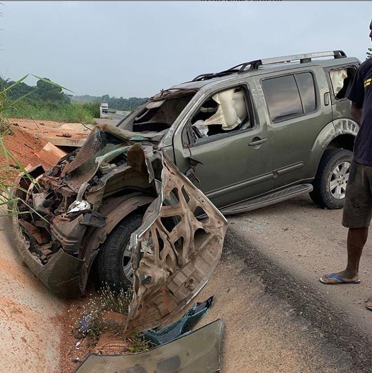 Yul Edochie Miracuously Survives Car CrashGuardian Life