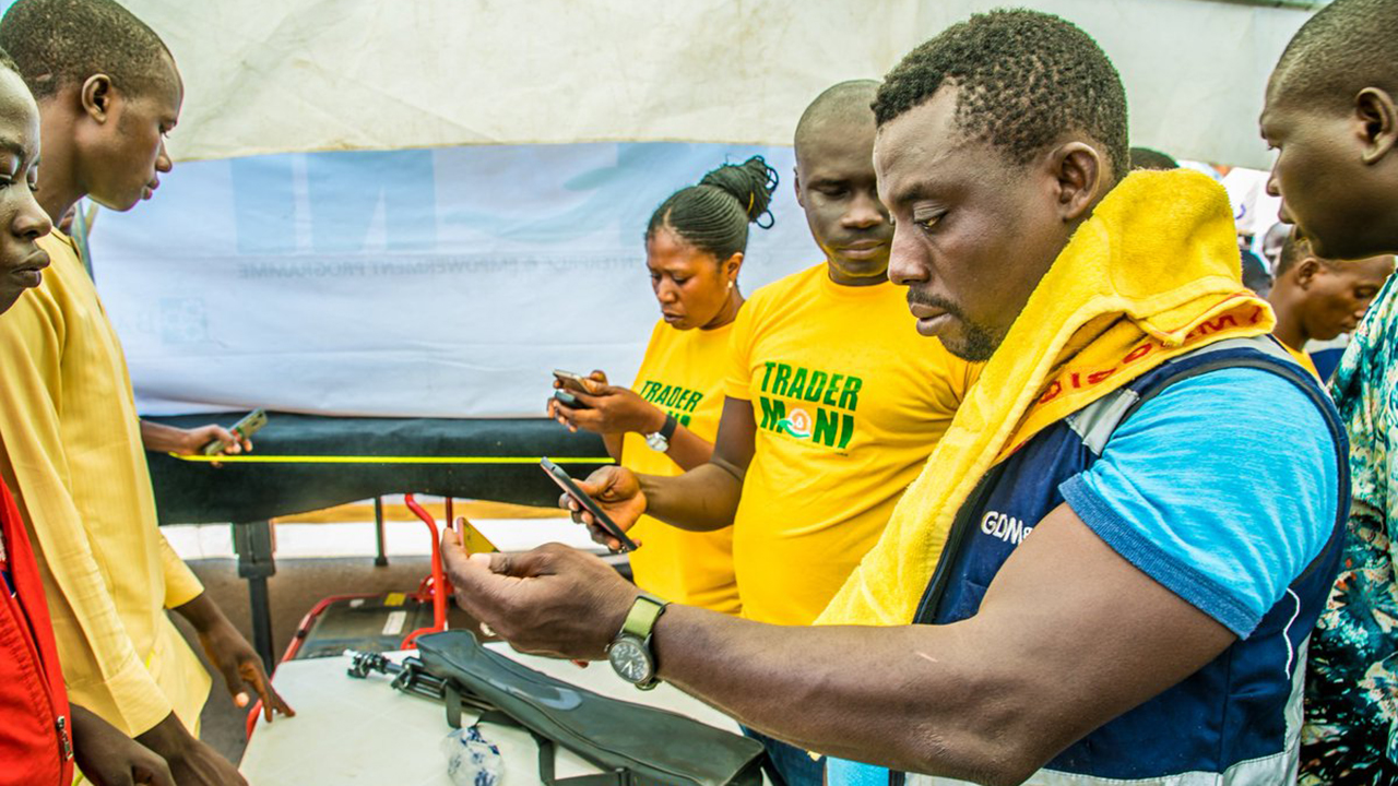 2.2m Nigerians benefit from TraderMoni