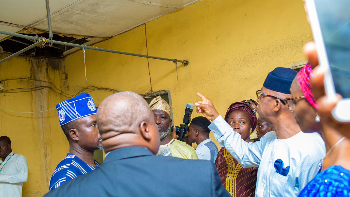 Image result for Governor Abiodun laments poor state of OOUTH