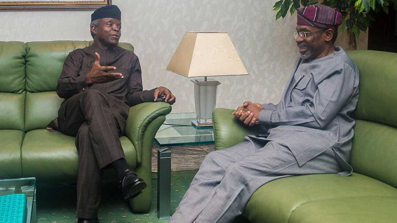 Osinbajo, Gbajabiamila meet on executive, legislative cohesion | The Guardian Nigeria News - Nigeria and World News